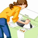 洗濯物にティッシュペーパーが!やっちまった時の早わざ対処法&注意点