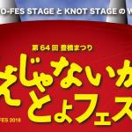 2018豊橋祭りの「ええじゃないか!とよフェス」出演者を紹介・入場料や時間も